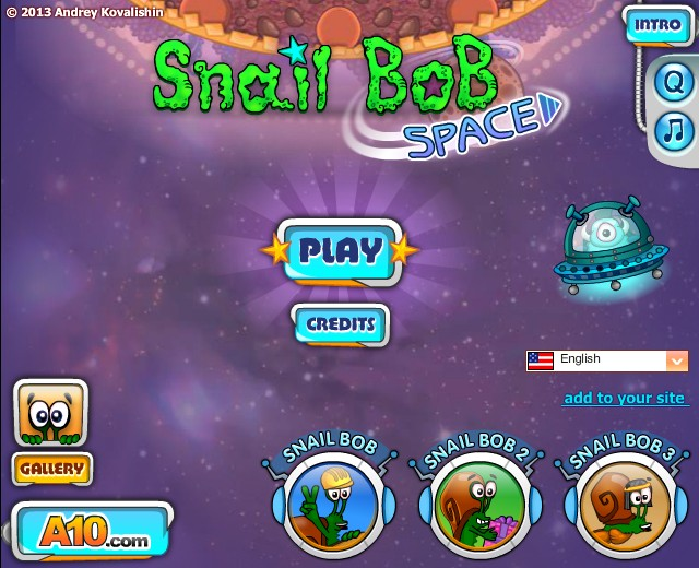 Snail Bob 4 - Space Screenshot ...