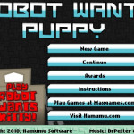 Robot Wants Puppy Screenshot