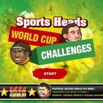 Sports Heads -  World Cup Challenges Screenshot