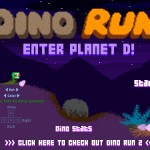Dino Run - Enter Planet D! Screenshot