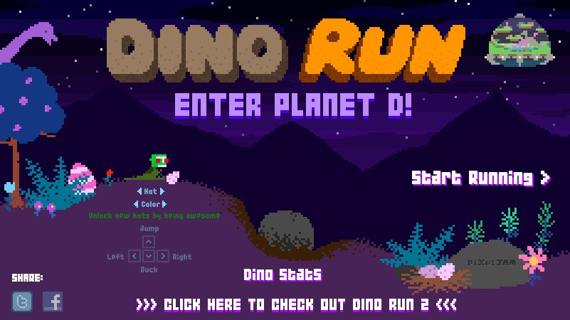 game dino run planet d