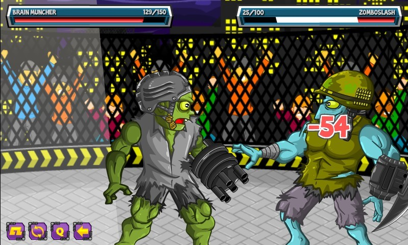 zombie fight club hacked