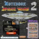 Notebook Space Wars 2 Screenshot